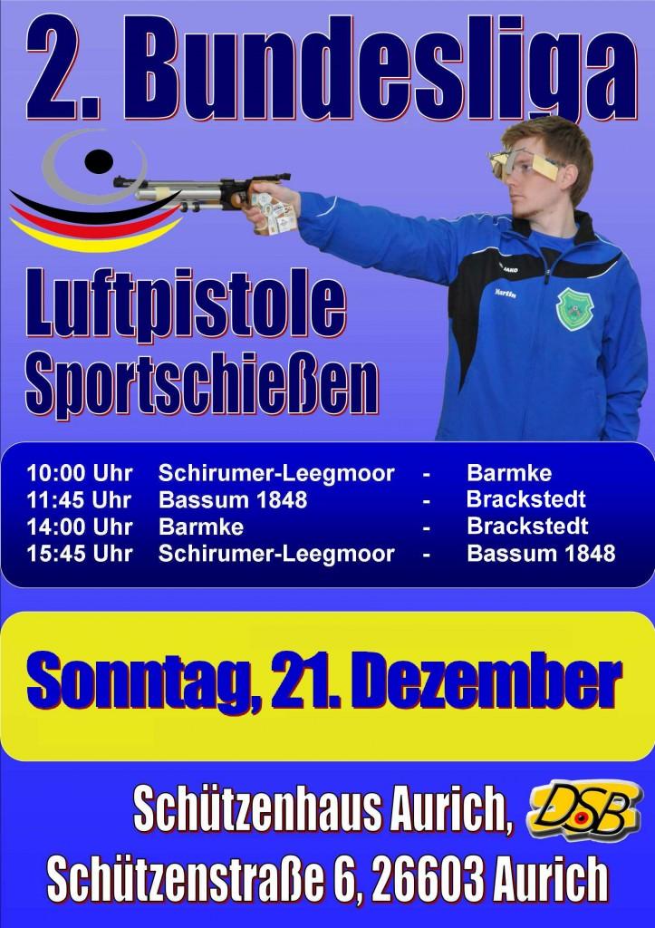 Plakat BL Heimwettkampf 2014
