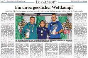 Ostfriesische Nachrichten 23.03.2016