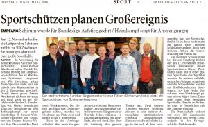 Ostfriesen-Zeitung 15.03.2016