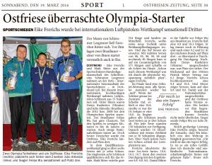 Ostfriesen-Zeitung 19.03.2016