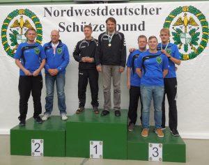 Siegerehrung Mannschaftswertung: Silber und Bronze für Schirumer Leegmoor