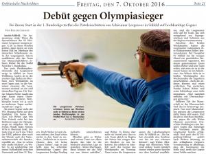 Ostfriesische Nachrichten, 07.10.2016