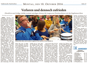 Ostfriesische Nachrichten, 10.10.2016