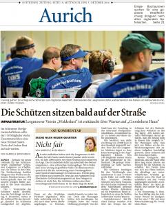 Ostfriesen-Zeitung, 05.10.2016