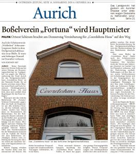Ostfriesen-Zeitung, 08.10.2016, Seite 19
