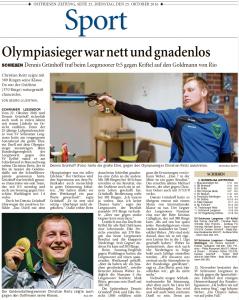 Ostfriesen-Zeitung, 25.10.2016